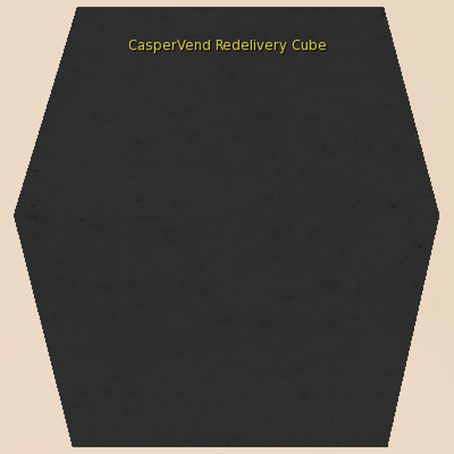 CasperVend Redelivery Cube