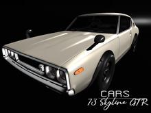 CARS 73 Skyline GTR