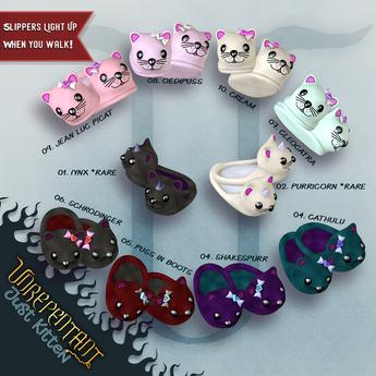 [UN] Just Kitten Slippers - 4 - Shakespurr Box