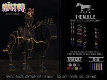 HILTED - The M.U.L.E - Spikes Add-on