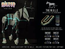 HILTED - The M.U.L.E - Horseshoes Add-on