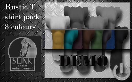 5 Minute DEMO  Rustic Tshirts(Slink)-Fat pack