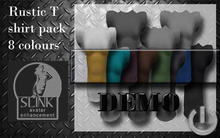 5 Minute DEMO  Rustic Tshirts(Slink)-Fat pack