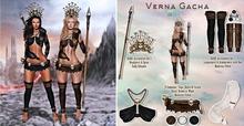 Luas Verna full set common with Accessories set 1 RARE