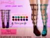::Deadly Dream:: Blood Lust Garters combat boots  *Fatpack*