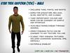 [S2S] Star Trek Uniform (TOS) - Male