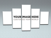 Your Image Here - Customize your world - Panel Wall Art