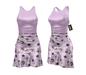 *** Harmonia Pink Vintage Mikaela Mid Length Dress - Maitreya