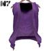 Nero - Roberto Open Hoodie - Purple
