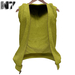Nero - Roberto Open Hoodie - Yellow