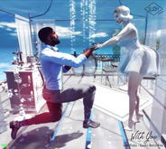 Lush Poses  - With You - Proposal  - Couple Poses