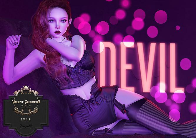 Violent Seduction - Iris (FATPACK) MAITREYA/LEGACY/FREYA