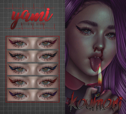yami - koumori eyeliner - catwa + bom