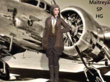 ~PP~ Earhart Costume Full Set