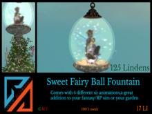 Sweet Fairy Bal fountain 2020