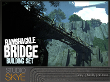 Skye Ramshackle Bridge Building Set