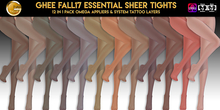 Ghee Fall17 Essentials Sheer Tights (12in1)