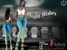 Night Wishes Laced Leggings