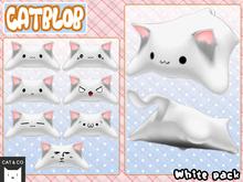 CAT&CO - Catblob White