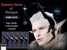 CAT&CO - Demonic Horns of Halragon - Dark Set