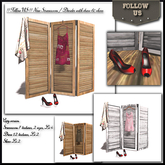 UPDATE 2020 !! Follow US !! NEW Screen Room divider Good Night with dress & shoes