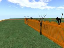 halloween fence