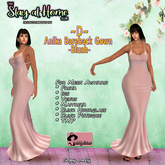 ~D~ Anika Bareback Gown - Blush - Stay At Home Gift