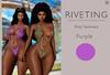 **Riveting ~ Drip Swimsuit {Purple} {Add}