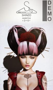 [sYs] SHINZO hair (unrigged) - DEMO