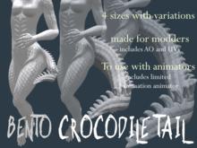 Bento Crocodile Tail (use with animators)