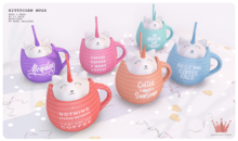 paper.crowns - kittycorn mugs