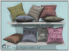 Totally Sleepless Pillow Set