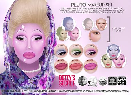Dotty's Secret - Pluto - Makeup Set