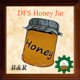 DFS Honey Jar made with Love & Care