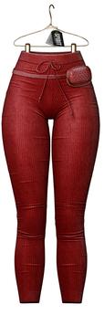 SPIRIT - Nona pants [RED]