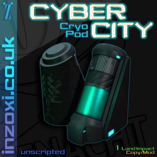 [inZoxi] - Cyber City Cryo Pod