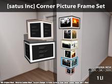[satus Inc] Corner Picture Frame Set