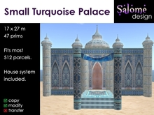 Small Turquoise Palace updated version - now only 27 prims