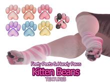 Berrybird - Kitten Beans [Pastels] (Apricot Paws: Paw textures)