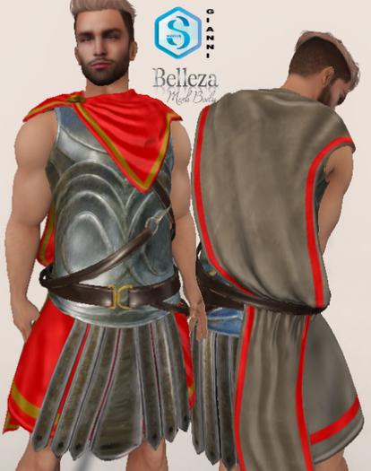 XK Marcellus Armor Set Red