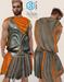 XK Marcellus Armor Set Orange