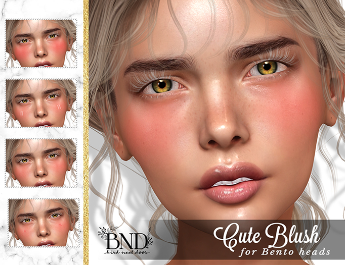 [BND] Cute Blush for Bento & Classic Heads