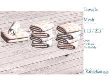 * The Senses * Set of Towels