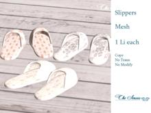 * The Senses * Set of Slippers