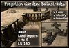 Forgotten Garden: Balustrades