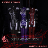/MURDER\ SciFi Tabbard Dress - FATPACK