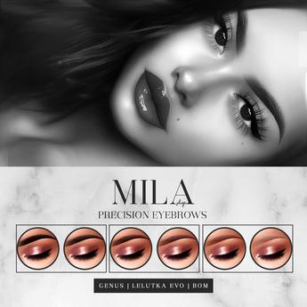 . MILA . Precision Eyebrows (LeL-Evolution/Genus/BOM) DEMO