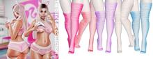 Spoiled - Geek Girl Stockings Flat & High FATPACK
