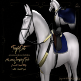 Cheval D'or / TPHano/APH / Rei Jumping Tack Set. [HUD Wear Me]