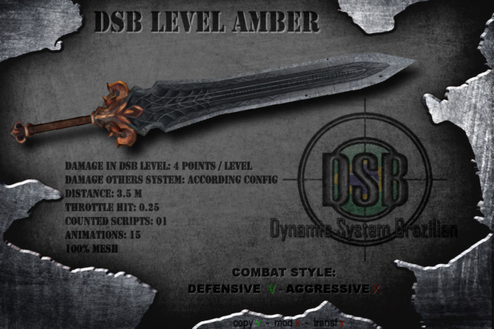 DSB LEVEL  AMBER v1.3 BOX